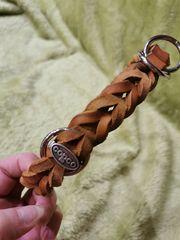 Echtleder Zugstopp-Halsband