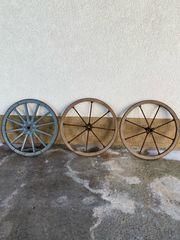 Holzrad Holzräder Antike Räder Dekoräder