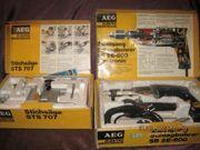 AEG-Schlagbohrmasche SB 2E-600 Electronic und