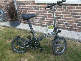 E-bike lithium Faltrad gbr. neuwtg.nur ca 120 KM lauflst.,16