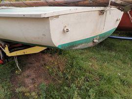 Segelboote - Segeljolle Ixylon zum Wiederaufbau