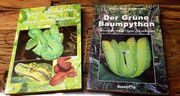 2 Bücher Grüner Baumpython
