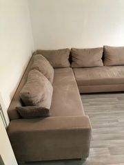 Couch in U - Form
