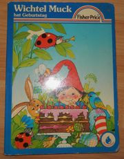 Fisher-Price-Pappbilderbuch - Wichtel Muck hat Geburtstag