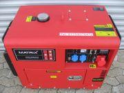 Stromaggregat Stromerzeuger 400V 230V Vermietung