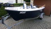 Angelboot Boatic 400 inkl Trailer