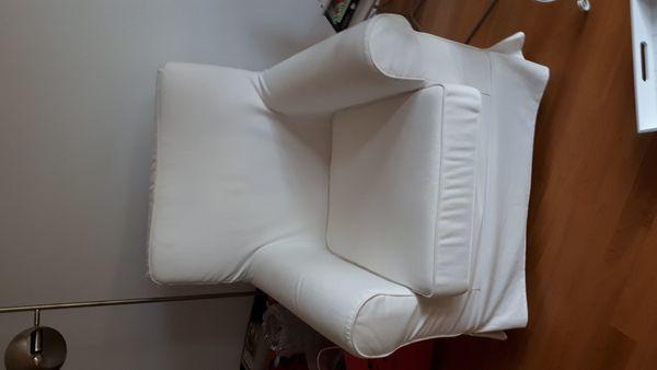 Ikea Sessel Ektorp in weiß