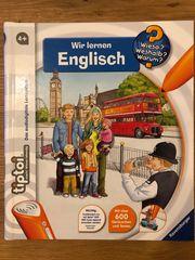 tiptoi Buch Wir lernen Englisch