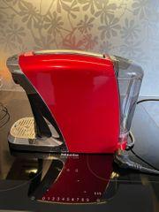 neue rote Caffissimo Saeco Kaffeemaschine
