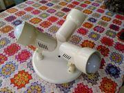 Decken-Lampe 3-strahlig mit LED-Birnen