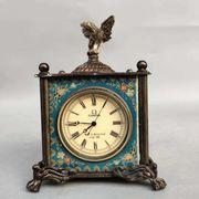 Mechanische Tisch Uhr Thermometer Adler