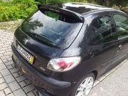 Peugeot 206 schwarz aus Schlachtfest