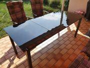 Gartentisch aus Glas