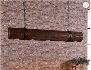 Extravagante Holz-Pendelleuchte Legno