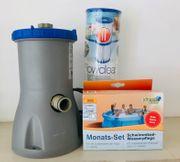 Filterpumpe für Pool Schwimmbecken incl