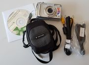 Fujifilm FinePix A800-Digitalkamera mit Zubehör