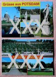 2 Andenkenkarten - Potsdam Potsdam Sanssouci