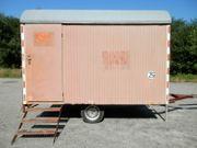 Bauwagen Baubude KNAUSS BW35
