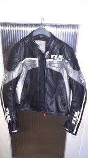 Herren Leder Motorradjacke Racing Dynamic