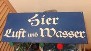 Metallschild Blechschild Schild Sign Emailschild
