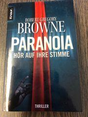 Thriller Paranoia Robert Gregory Browne