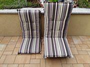 6 Auflagen für Gartenstühle