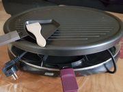 Raclette für bis zu 8