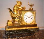Bronze Uhr LEKTURA c1810