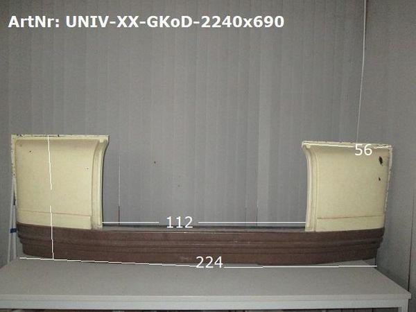 Gaskastenverkleidung ca 224cm x 69cm