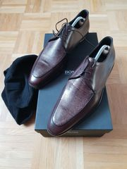 ORIGINAL BOSS BLACK Derby-Schuhe dunkelbraun
