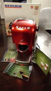 Kaffeemaschine Eierkocher Tchibo Cafissimo rot