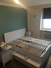 Bett Ikea Skorva 160x200 mit