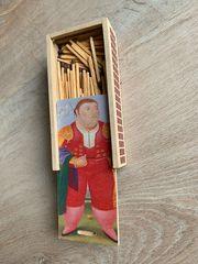 Streichholz Schachtel BOTERO Kolumbien Streichholzbüchse