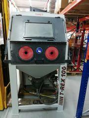 T-REX 100 Doppelpower Strahlkabine SAPI