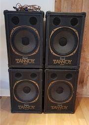 4 x Tannoy Puma 15