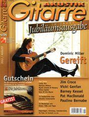 Jubiläumsausgabe von Akustik Gitarre April