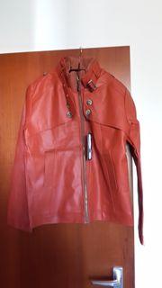 NEU Motor Jacke mit Reißverschluss