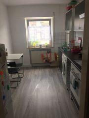 Küchenzeile grau/weiß