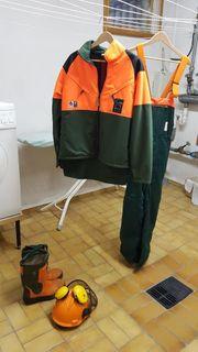 Holzfällerkleidung
