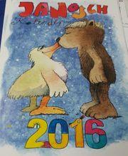 alte Kalender von JANOSCH