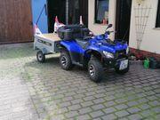 Quad Kymco MXU 300 mit