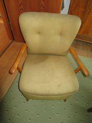 50er 60er Jahre Polster Sessel