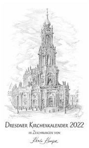 Kunst Kalender Kirchen Dresden 2022