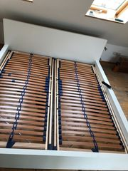 Doppelbett Ikea Malm 180x200 weiß