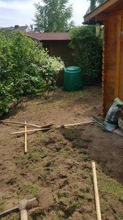 Biete Gartenarbeiten rund ums haus