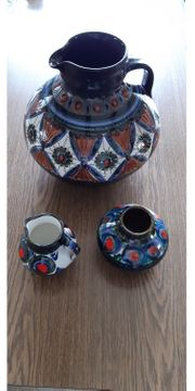 3 wunderbare Keramiktöpfe wie neu