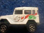 Spielzeug - Toyota 4 x 4 - weiß -