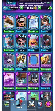 Clash Royale Account lvl 10