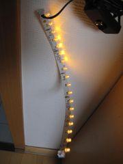 LED Beleuchtung orange für Espresso