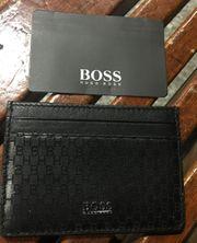 Hugo Boss Kreditkarten Etui Neu